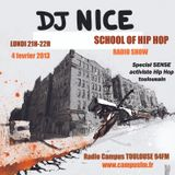 SCHOOL OF HIPHOP RADIO SHOW, SPECIAL SENSE, ACTIVISTE HIPHOP TOULOUSAIN