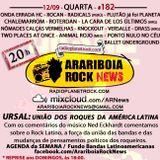 # 182 Arariboia Rock News - 12.09.2018 - Especial URSAL