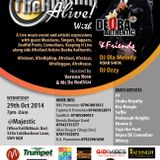 Keeping The Rhythm Alive (KTRA) with Deoba Authentic & Friends 29th Oct 2014