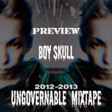 2012 - 13 boyskull ungovernable original mixtpae vol.5 preview