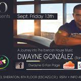 DWAYNE GONZÁLEZ  live at 8vo. PART 1 ( THE INTRO )