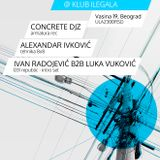 Alexandar Ivkovic @ Industria (Edit:Tehno, Beograd) 09.02.2013