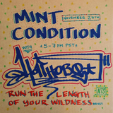Mint Condition w/ Hotthobo - 27th November 2017