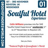 """121019 """"SHE"""" Soulful House / Soulful Hotel Experience Preview Mix November 2019"""