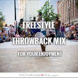 Freestyle Throwback Mix 3 - DJ Carlos C4 Ramos