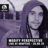 Modify Perspective - Live At Adaptive Presents UTAH JAZZ - The Music Factory LP Launch - 26.08.16