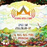 YUTA@SOUND BASS CAMP(北海道, HOKKAIDO) TECHNO to GOA MIX 2015.08.30