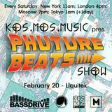 Kos.Mos.Music pres. Phuture Beats Show by Liquitek 20.02.2016