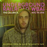 WBAI 99.5fm @ Underground Railroad Radio ~thecallback~