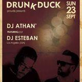 DJ ATHAN' & DJ ESTEBAN Live in Athens (DrunkDuck) (2018-09-23) #1