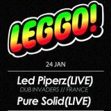 Led Piperz - Live @ LEGGO! - 24 Jan 2013 (Set #3)