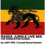 "Ragga Jungle Live Mix for ""Kombustion Global"" by Lady Krii 2012"