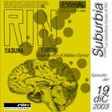 SUBURBIA CHART Edizione del 19 Dicembre 2003 - RIN RADIO ITALIA NETWORK