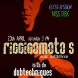 Miss Disk - audio selfdefence guestsession -Ibizaglobalradio April 20th 2013