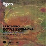 Davide Squillace @ Cadenza & This And That, Blue Parrot (The BPM Festival 2015) - 14-Jan-2015