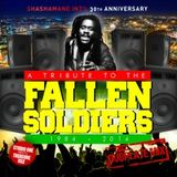 SHASHAMANE INTL - 30TH ANNIVERSARY A TRIBUTE TO THE FALLEN SOLDIERS DUBPLATE MIXTAPE MARCH 2K14