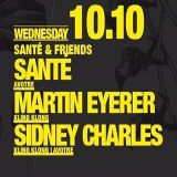 Sidney Charles @ Sante & Friends - Suicide Circus Berlin - 10.10.2012