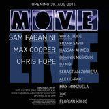 Frank Savio @ Move Opening (Smokebox) 30-08-2014