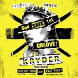 Kryder @ God Save The Groove Boat Party, Amsterdam Dance Event