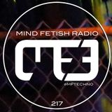 MIND FETISH RADIO - 217 - SPECIAL GUEST SET - DJ RELENTLESS