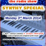 THE JOHNNY NORMAL RADIO SHOW 41 - 3RD MARCH 2014