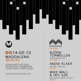 WALL MUSIC PODCAST #7 - Andie Klaer at Stockade BERLIN - 14.02.2013