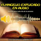 Evangelio explicado en audio del sábado último del año litúrgico semana XXXIV tiempo ordinario