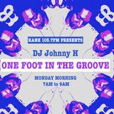 One foot in the Groove radio show with Johnny H 13-11-17