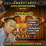 SILKKEY D LIVE INTERVIEW WITH DJ JAMMY ON ZIONHIGHNESS RADIO 041018