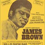 Dan Austin - James Brown tribute & funky 45s night - Willis Show Bar - Detroit - May 3, 2018 - Set 1
