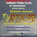 Apocalypse radioshow on Mondoradio 27/01/2019 episode#84 Stefano Antonini