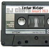 DJ Chr=S - Techno-Mixtape Januay 3013