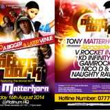 PART 2-AFTER DARK - 16-8-14 - TONY MATTERHORN LS V. ROCKET & GAMROCK- PLATINUM HQ, LEICESTER.