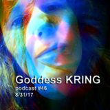 Podcast #46 Goddess KRING how to survive on a low income in an expensive city