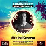 Akira Kayosa @ Luminosity Beach Festival 28-6-2018