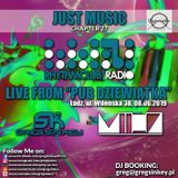 "Just Music - chapter 27 - Rhythmclub radio LIve from ""pub Dziewiatka"""