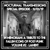 IN MEMORIAM: A TRIBUTE TO THE FALLEN ICONS OF POST-PUNK. VOL #2 - LAMENT