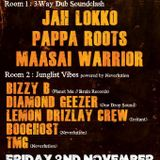 BOOghost @ Bristol Dub Club, Nov 2012 (The Car Sub-woofer Special)