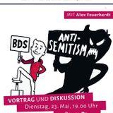 Alex Feuerherdt: BDS & Co. - Boykottkampagnen gegen Israel und ihre Hintergründe (23. Mai 2017)