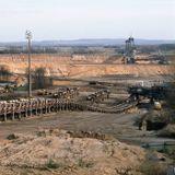Braunkohleförderung im Tagebau Hambach beginnt (am 17.01.1984)