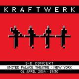 Kraftwerk - United Palace Theatre, New York, 2014-04-01