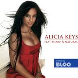 Alicia Keys - flat, sharp & natural