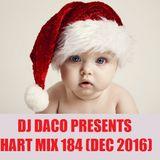 DJ DACO Chart Mix 174 (Dec 2016)