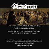 Observance...First episode on BlackVoidRadio.con