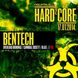 BENTECH - Live @ Hard²Core (Aquarius A1, Zagreb - 17.01.2014)