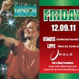 Osmose - LIVE 12.09.11 DISCO at Halo Lounge - SlomoDisco/Soul Edits
