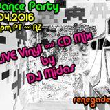 Retro Dance Party 06.04.2016 LIVE on Renegade Retro <renegaderetro.com>
