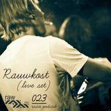 Raw Trax Records Radio Podcast 023 Rauwkost live