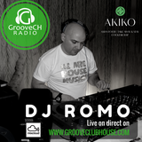 DJ ROMO (DJ CK Bday Party) from AKIKO Club Lausanne Saturday 18.3.2017 on grooveCH radio Live !!