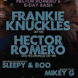 Mikey G @ D36 4/1/11 BasicNYC Hector Romero, Frankie Knuckles